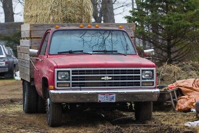 Chevrolet C/K Pickup 3500 CHEYENNE MID OHIO 1989 CHEVY CHEVROLET C3500 1 ton Dually Pick-Up Truck
