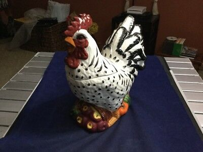 Rooster Cookie Jar by GKAO