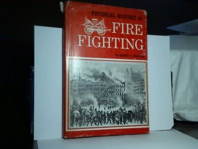 Pictorial History of Fire Fighting by Robert Masters - 1967-Hardcover -