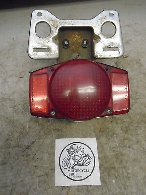 Hondamatic Cb750 Rear Tail Light And Mount