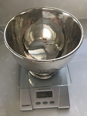 Bikes Antique Sterling Silver Bowl / Dish / Trophy Bowl / Hallmarked / 363 Grams
