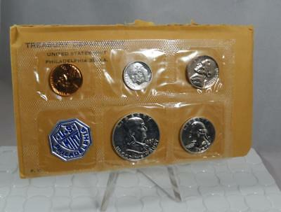 1957 United States Mint US Proof 5 Coin Set with Original Envelope CB404