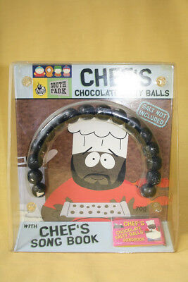 South Park Chef's Chocolate Salty Balls with Chef's Song Book