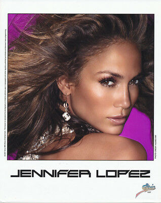 Jennifer Lopez RARE 8x10 color publicity photo '07