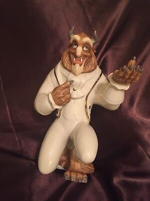 Beauty and The Beast Lenox Beast Figurine