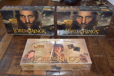 Action Flipz Lord of the Rings SEALED Lot (3 Boxes)