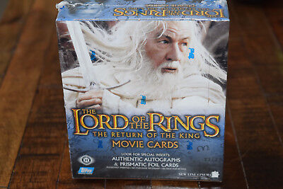 Topps Lord of the Rings Return of the King SEALED Box Movie Cards (Lot #1)