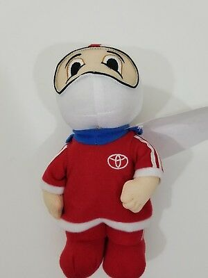 """2007 Toyota Racing Pilot Limited Edition Toy Stuffed Doll 8"""""""