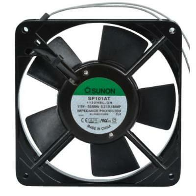 120 VAC 120mm Ball Bearing Fan 88 CFM with 12 Inch Wires