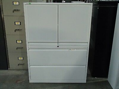 Office/Home Storage Cabinet White Metal 36177/86