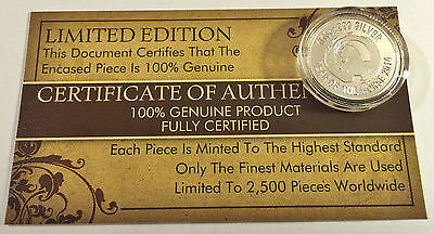 """New 2014 Certified """"YEAR OF THE HORSE"""" 1/10th OZ 999.0 Pure Silver Proof Coin a"""