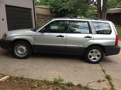 "2003 Subaru Forester  Price reflects a ""Rebuilt"" title"
