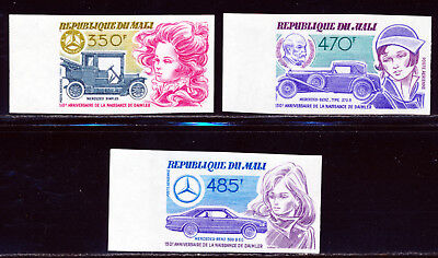 Mali 1984 Old Classic Cars Margin Imperf Set Scott C503-05
