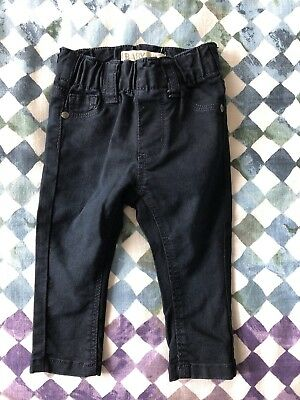 Cotton On Baby Skinny Jeans Jegs Dark Blue Size OO