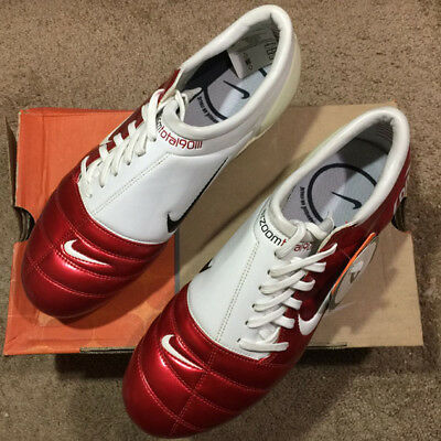 12ba00bbb ... football boots uk 10 fad5a e4250  closeout nike air zoom total90 iii fg  red white cannavaro 2006 world cup 308229 612 b0116
