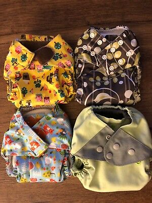 4 All in One Cloth Diapers