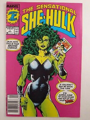 The Sensational She-Hulk #1, May 1989, Marvel, Newsstand, VF/NM