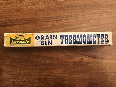 Vintage DL Grain Thermometer in Original Box