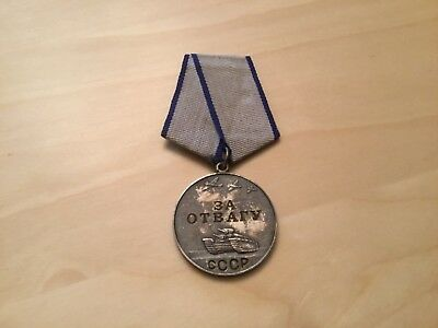 russian ww2 medal for bravery