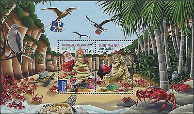 2012 Christmas Island - Christmas Mini Sheet