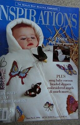 Inspirations Embroidery Magazine Issue  5- 1994