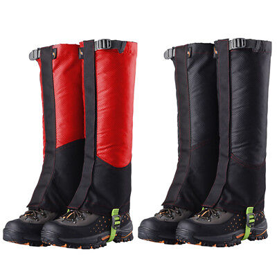 1 Pair Oxford Waterproof Outdoor Hiking Climbing Hunting Snow Legging Gaiters