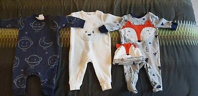 3 x baby bodysuits/one pieces and - 000 Seed /Jack and Millie new without tags