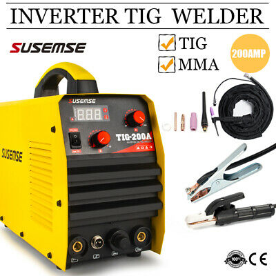 Digital Display Welding Machine TIG Welder 110V/220V Complete Accessories Set
