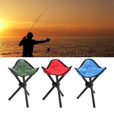 Outdoor Fishing Triangle Folding Stool Large Size (Color: Red) Portable