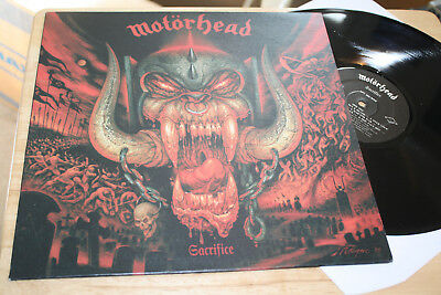 Motörhead - Sacrifice - Top Steamhammer DE Hard Rock Vinyl Album Reissue - Look