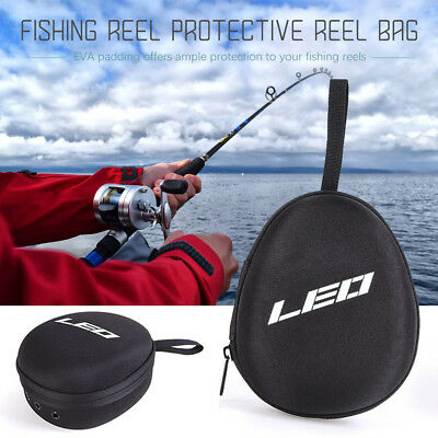 Fishing Reel Bag Case Cover Pouch EVA Tackle Baitcasting Protective Storage OK