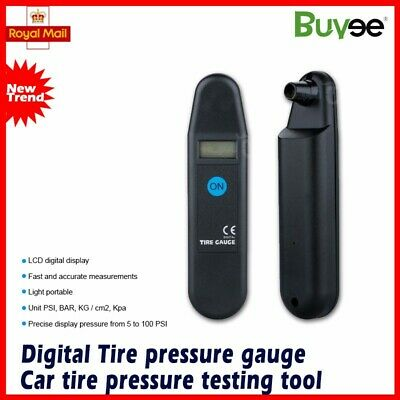 Digital Air Pressure Gauge PSI with LCD Display For Bike Car Van Motorcycle Tyre