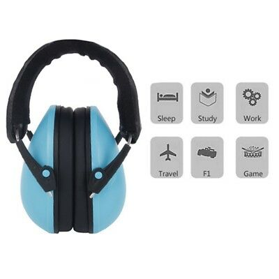 Kids Child Ear Muff Defenders Noise Reduction with Ear Plug for Sleeping Travel