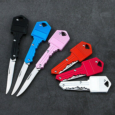 New Pocket Key Knife EDC Portable Keychain Tactical Ourdoor Survival