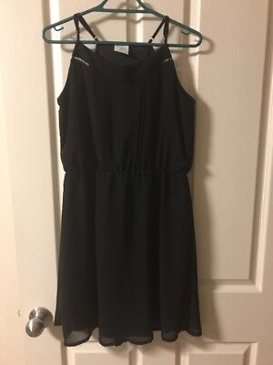 Girls Size 14 Black Emerson Dress