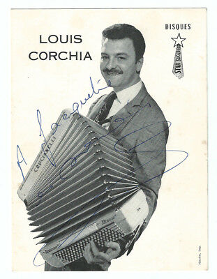LOUIS CORCHIA Photo DEDICACES