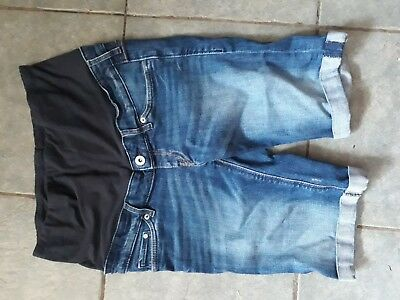 H&M Maternity Over Bump Shorts Size EUR 36 UK 8-10