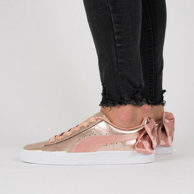 CHAUSSURES FEMMES SNEAKERS Puma Basket Bow Luxe Wns [367851