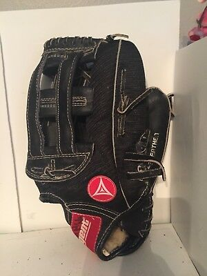 Regent Darryl Strawberry Baseball Glove - Black Hand Crafted Leather - 03275