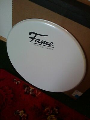 2 Stück Marching Bass Drum Felle der Marke Fame 24""