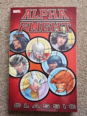 ALPHA FLIGHT CLASSIC Vol 2 - Marvel Comics - John Byrne