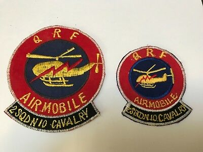Vietnamese made Air Cavalry 2/10  Cavalry QRF patch set