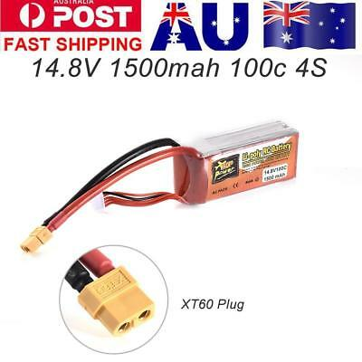 1500MAH 14.8V 100C 4S XT60 Plug Lithium Battery For Remote Control Car Toy