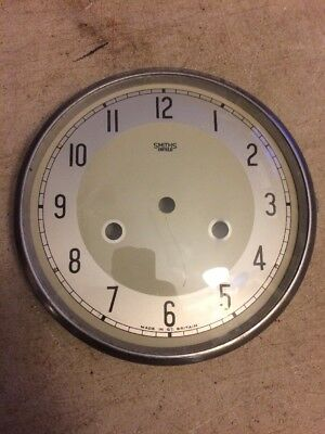 Smith Enfield Mantle Clock Dial & Bezel With Glass