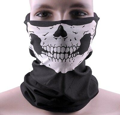 Full Face Mask Cap Hat Skull Scarf Snood Mask Motorcycle Balaclava Neck Ski Bike
