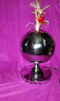 Incredible vintage 60s Fantasia rotating color changing fiber optic light