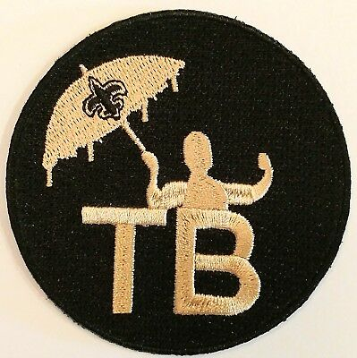 e73b6b79 2018 TOM BENSON Memorial Jersey Patch - New Orleans Saints - TB
