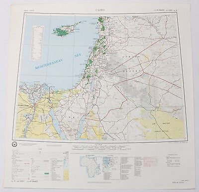 Cairo Africa Vintage Original Defense Mapping Agency Topographic Map