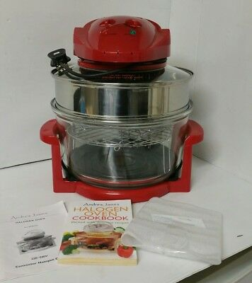 Andrew James Halogen Oven With Cook Book And Accesories