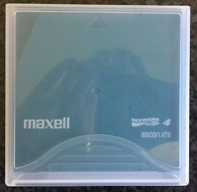 MAXELL LTO-4 22875200 Ultrium-4 Data Tape Cartridge (800GB/1.6TB)